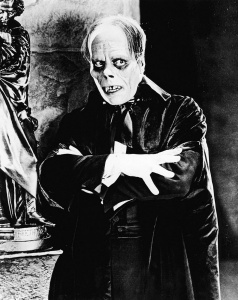 Lon Chaney as Erik, the Phantom of the Opera