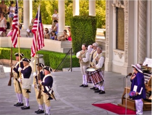 Sons of the American Revolution Color Guard