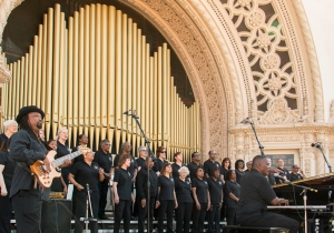 The Martin Luther King Jr. Community Choir of San Diego.
