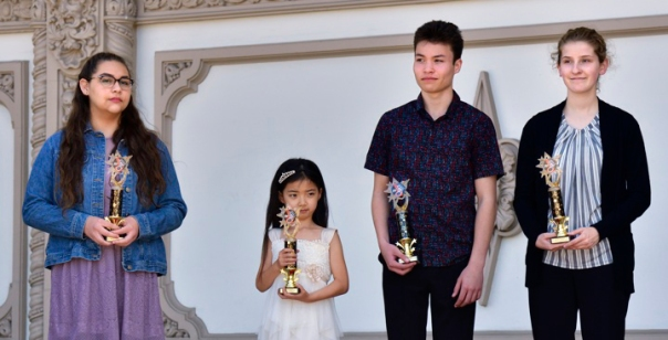 The 2018 AGO - Spreckels Honors Concert awardees.